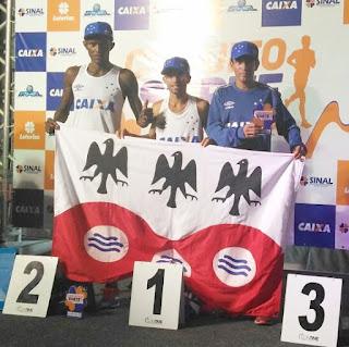 Equipe de Atletismo de Garanhuns ganhou corrida em Maceió