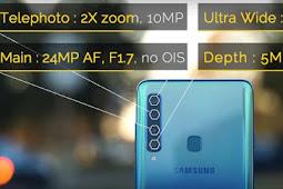Samsung Galaxy A9, Cicipi Teknologi 4 Kamera