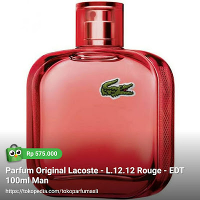 lacoste l1212 rouge edt 100ml man