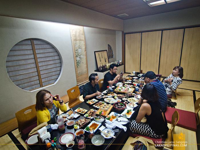 Hatsu Hana-Tei Makati Tatami Room