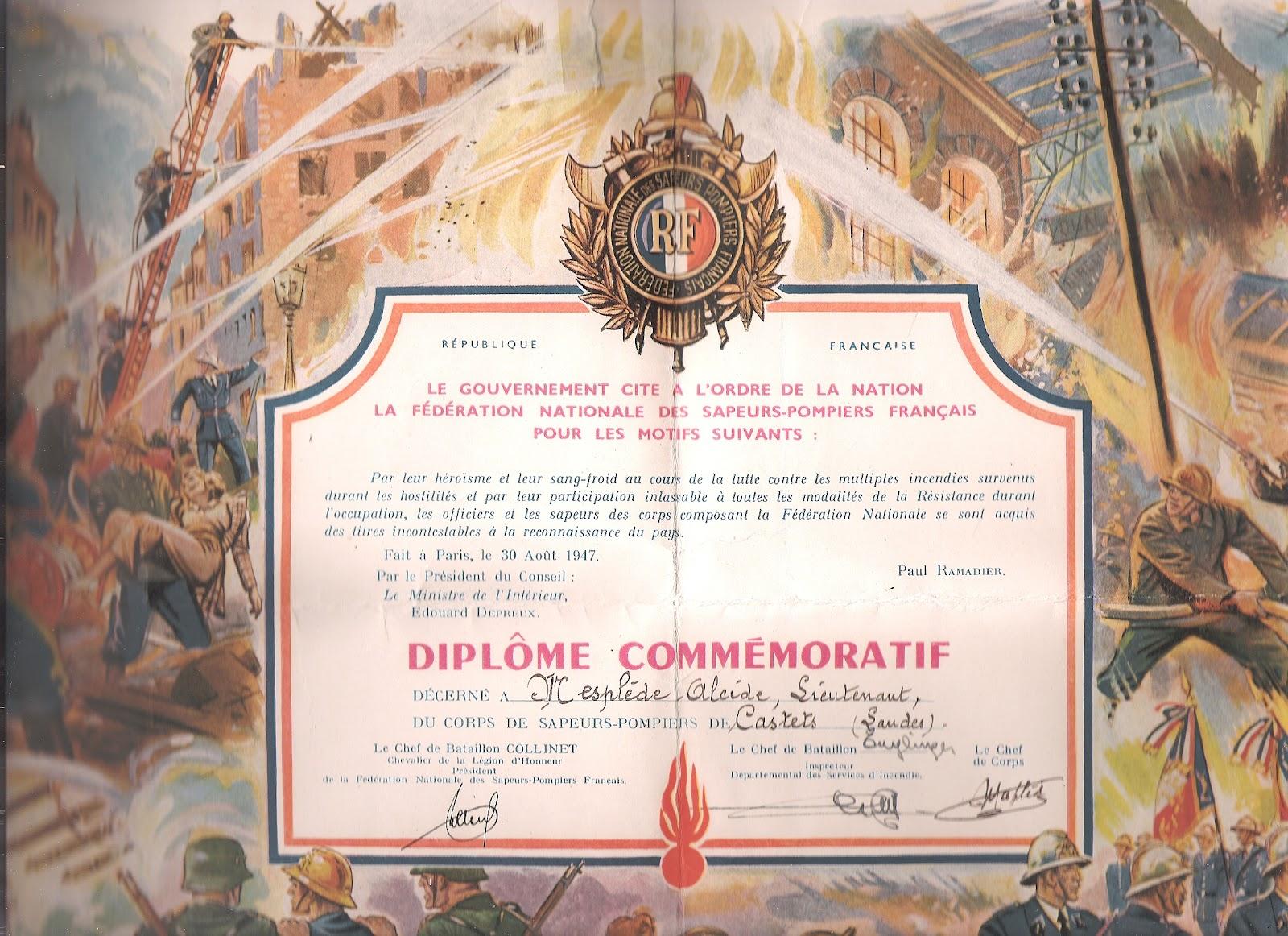 130 Ans Citation à L Ordre De La Nation