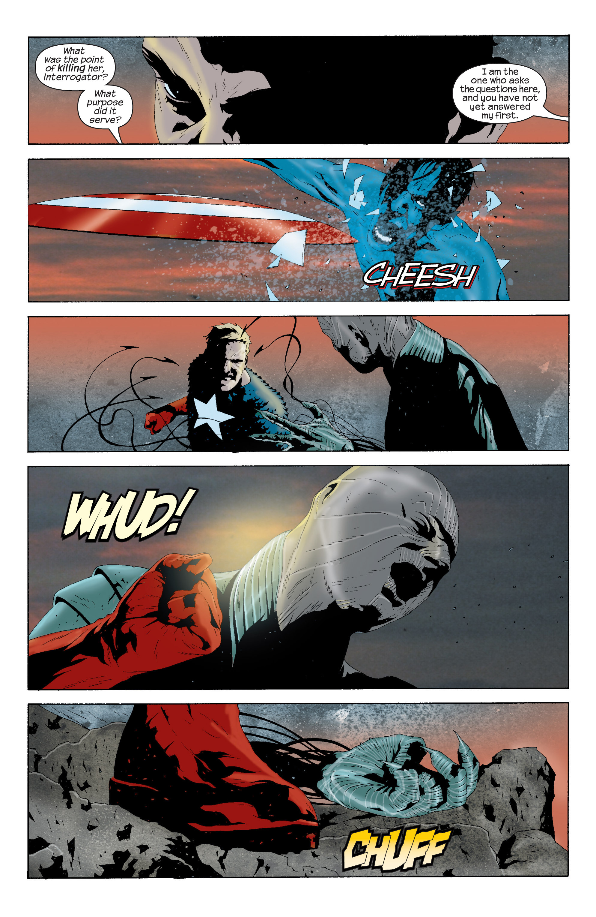 Captain America (2002) Issue #16 #17 - English 4
