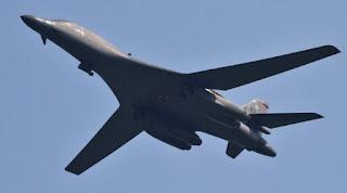 Korut:Respons Uji Coba Nuklir Korut, AS Unjuk Kemampuan Pesawat Bomber