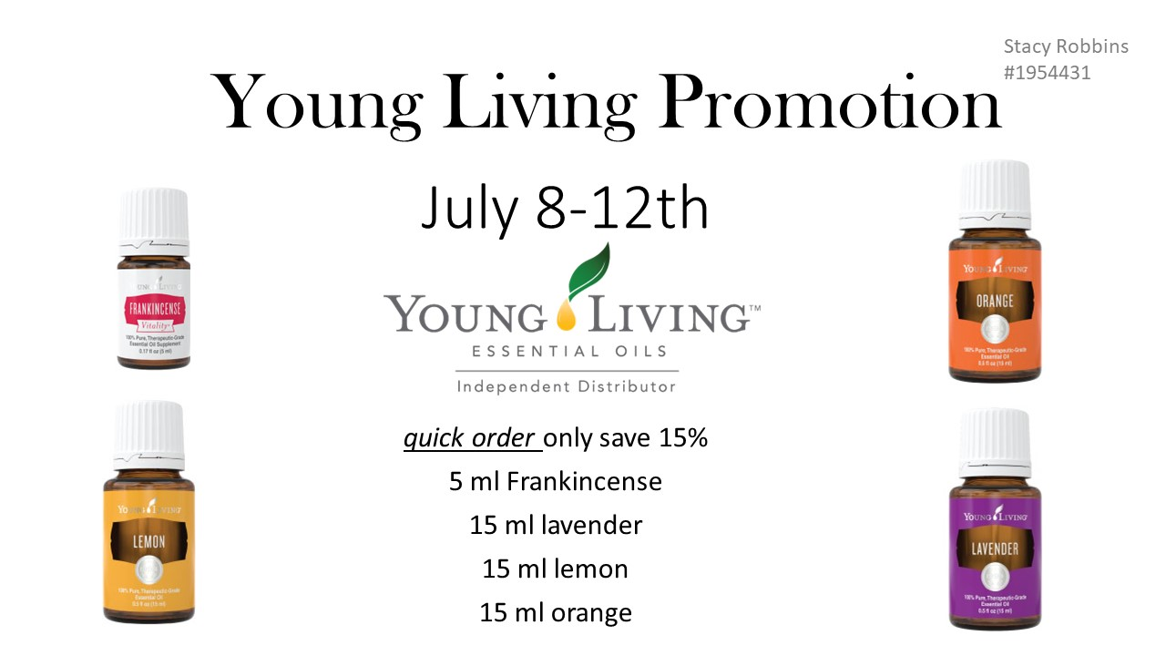 Young Living Essential Oils Buy Psk Free Oil 15ml July Quick Order Promo