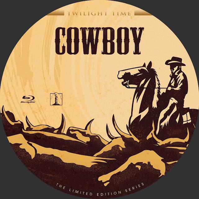 Cowboy Bluray Label