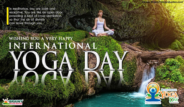 yoga day hd wallpapers, international yoga hd wallpapers with Quotes, happy yoga day