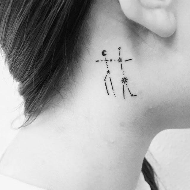 Tattoo, tattoo gemeos, tattoo gemeos signo, tattoo gemeos constelação, tatuagem gemeos, tatuagem gemeos signo, tatuagem gemeos constelação, geminianos, astrologia, gemini
