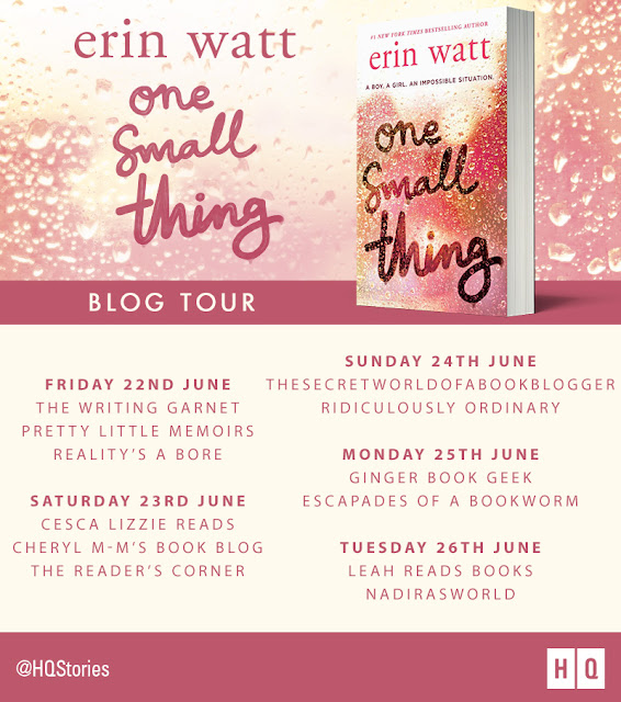 Blog Tour & Review: One Small Thing by Erin Watt