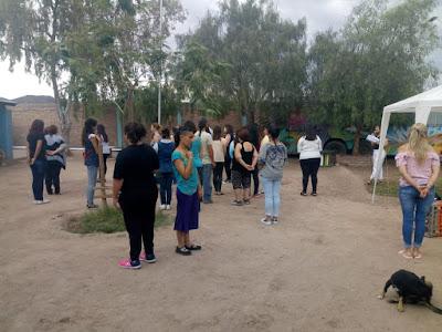 """Taller vivencial en en Centro Educativo """"Arco Iris"""", Mendoza"""