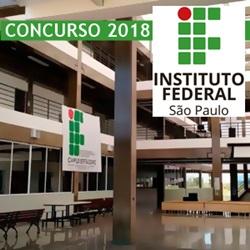 Edital Concurso IFSP 2018