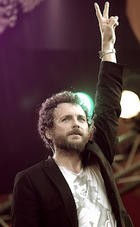 Jovanotti started out as a DJ before turning to hip hop and rap