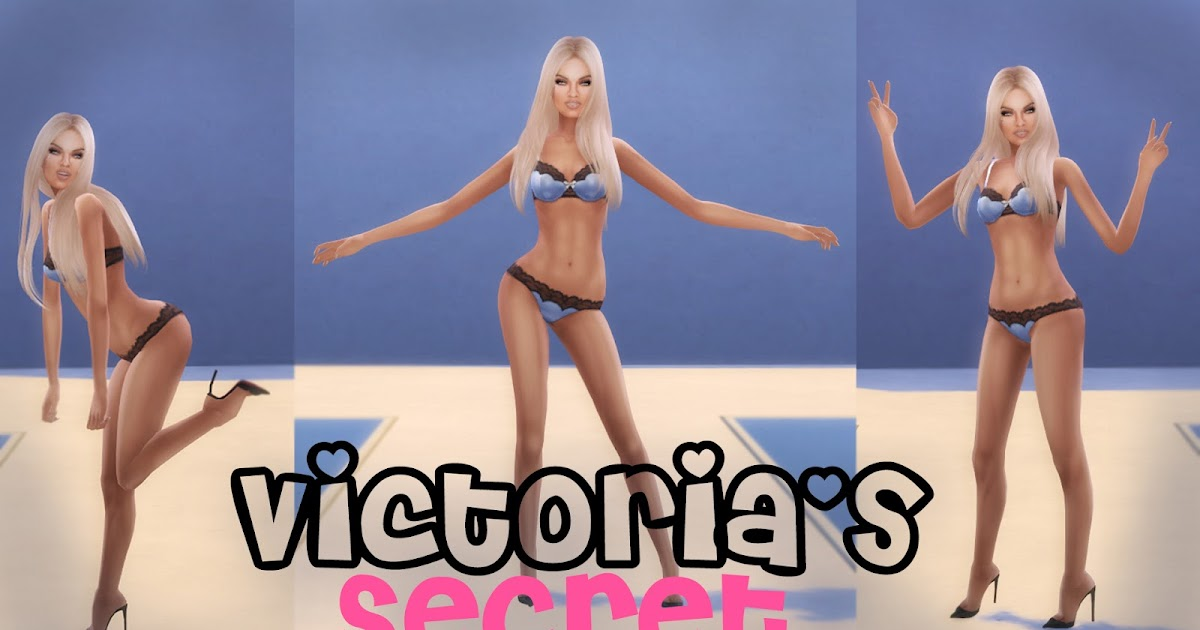Kylie Jenner Vs Fashion Show >> Moon Galaxy Sims: Sims 4 Victoria's Secret Animations