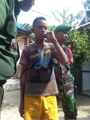 Reza Saat Berbicara dengan Panglima TNI