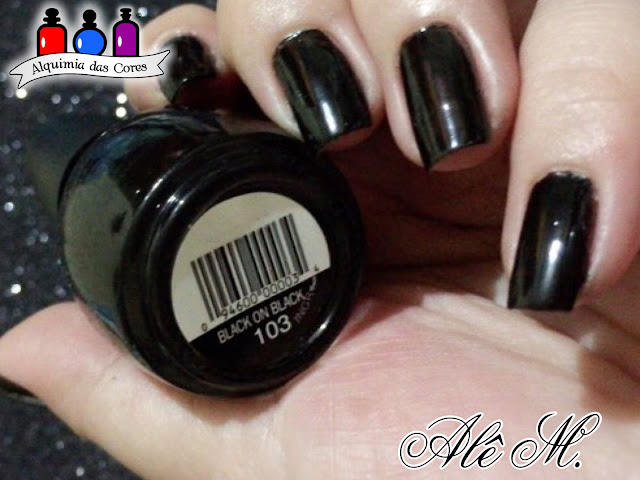Sinfulcolors, Black on black, glitter, chamaleon, DRK Nails, UNT, Ready for takeoff, peel off base coat, seche vive, Alê M.