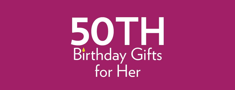 50th Birthday Gifts Ideas