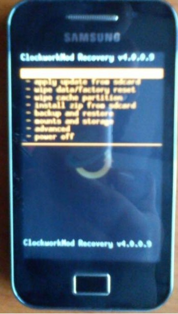 Latest Clockwork Mod Recovery v5 0 2 6 For Samsung Galaxy Ace GT
