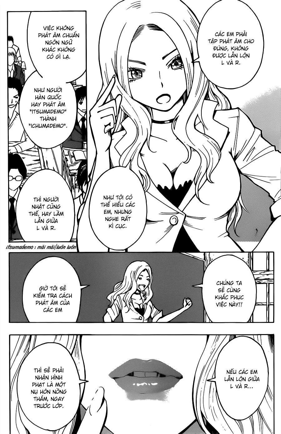 Ansatsu Kyoushitsu chap 25 trang 3