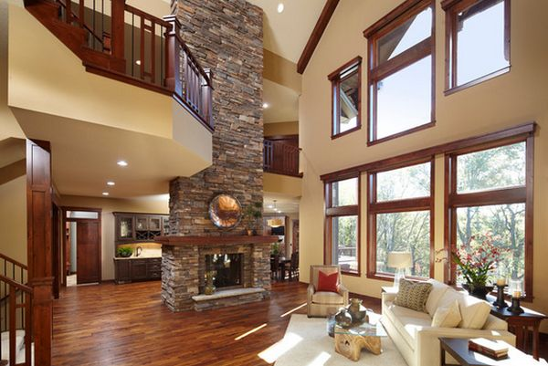 Paint Ideas For A Living Room Design With High Ceilings