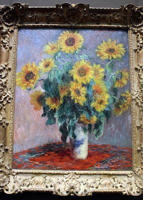 Sunflowers, Claude Monet