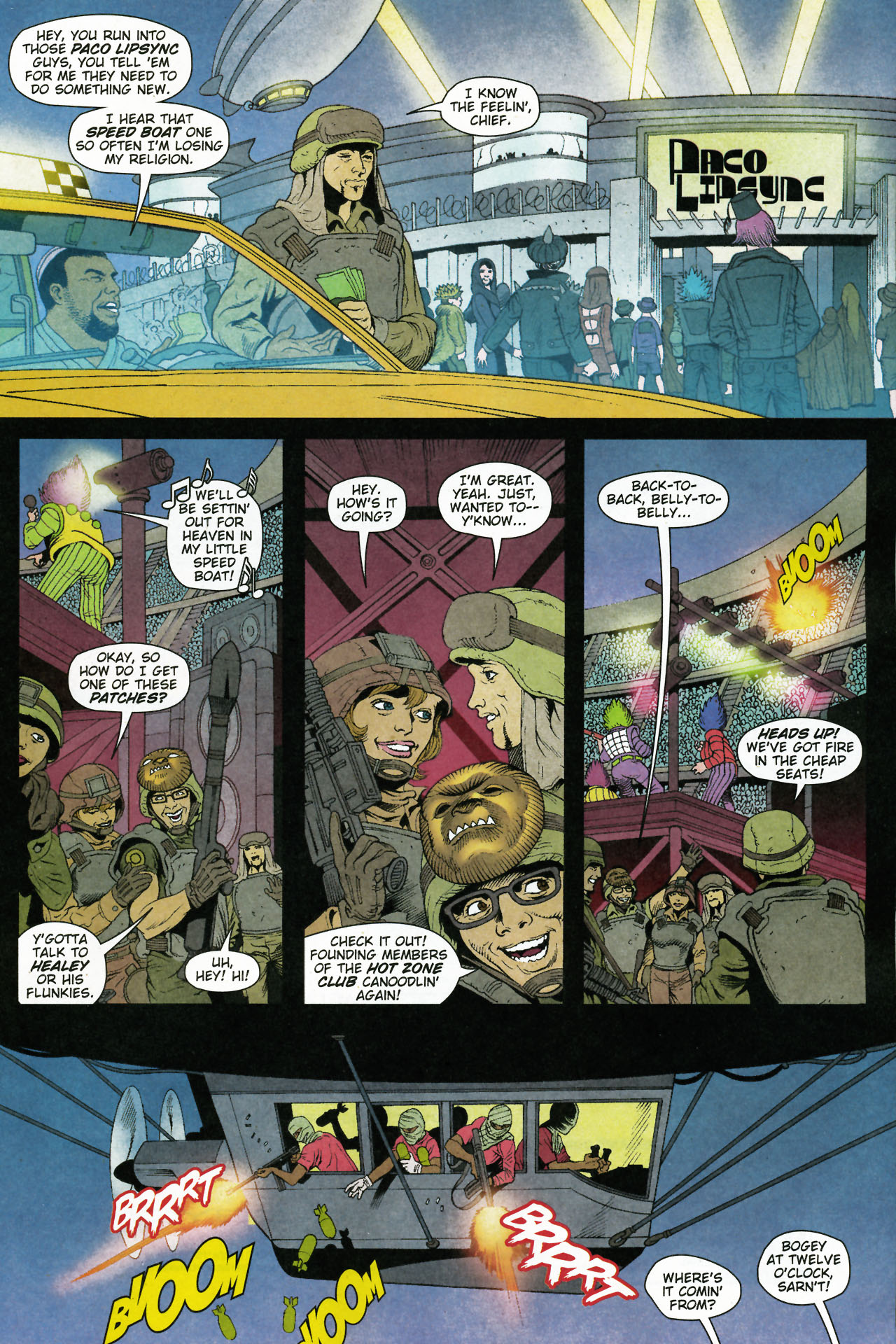 Read online Army @ Love comic -  Issue #5 - 12