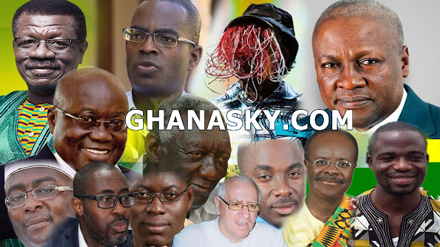 Most Influential Ghanaians, total of 100 personalities