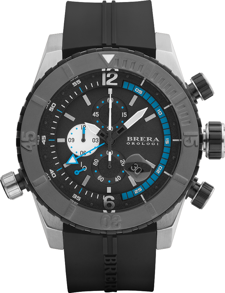 04a406f25db e resistente ai graffi. Handbrushed stainless steel with rubber strap