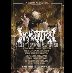 Legendaris Death Metal, Incantation akan konser di Boyolali, Indonesia