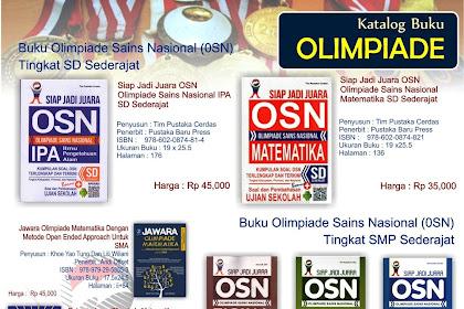 Daftar Lengkap Buku Olimpiade Sains Nasional (OSN)