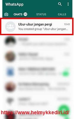 Cara menghapus group whatsapp