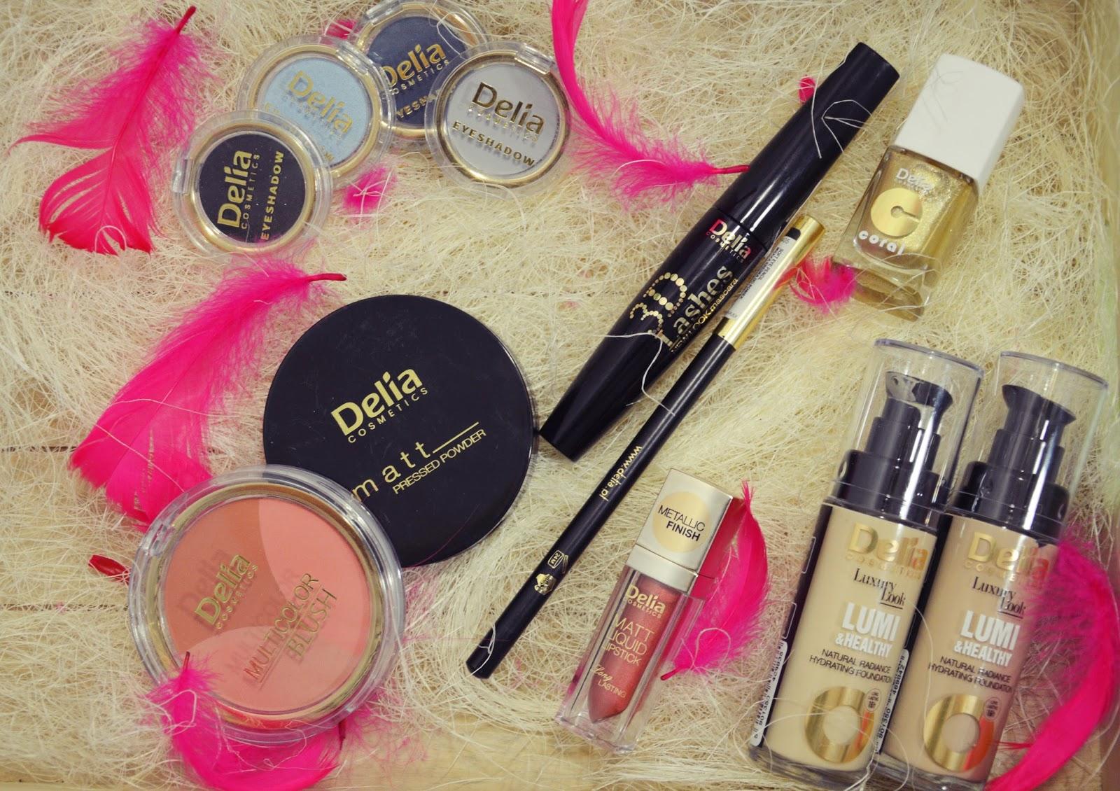 DELIA - kosmetyki do makijażu wieczorowego!
