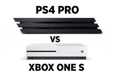 Xbox One S vs PS4 Pro