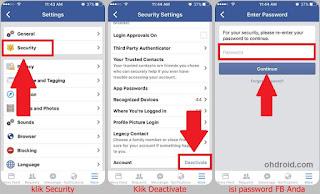 Cara Menghapus Akun Facebook Sendiri sementara
