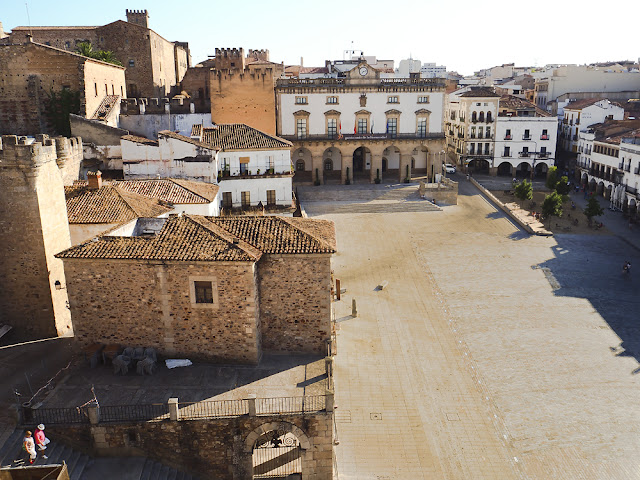 Cáceres, Plazza Mayor