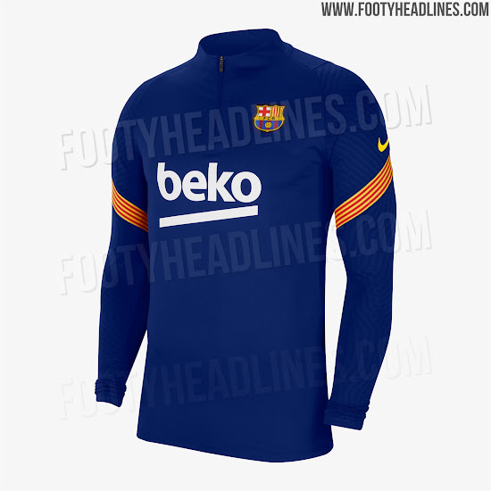 Fc Barcelona 20 21 Training Kits Leaked Footy Headlines