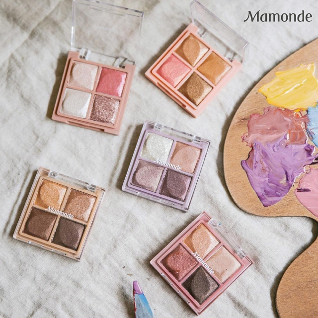 Journey of Flowers with Mamonde Flower Pop Eye Brick and Flower Pop Blusher