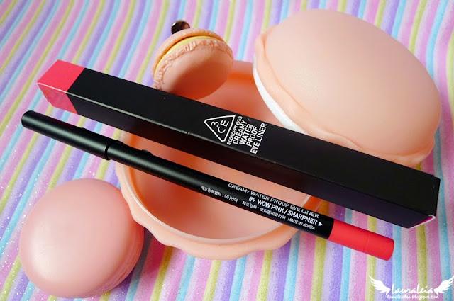 3CE Creamy Waterproof Eyeliner #9 Wow Pink