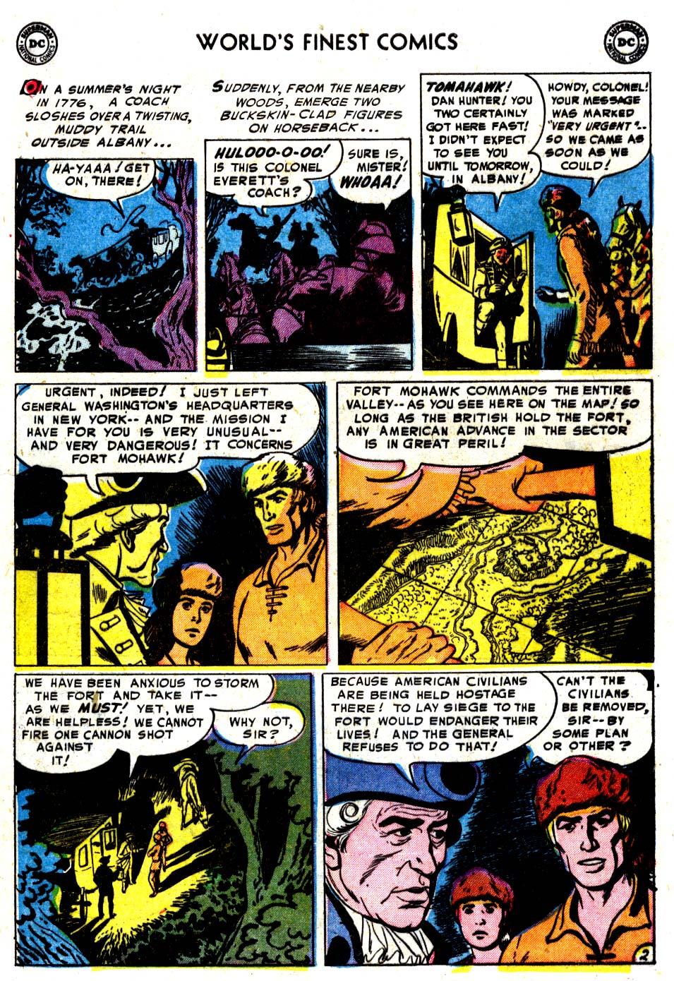 Read online World's Finest Comics comic -  Issue #68 - 17