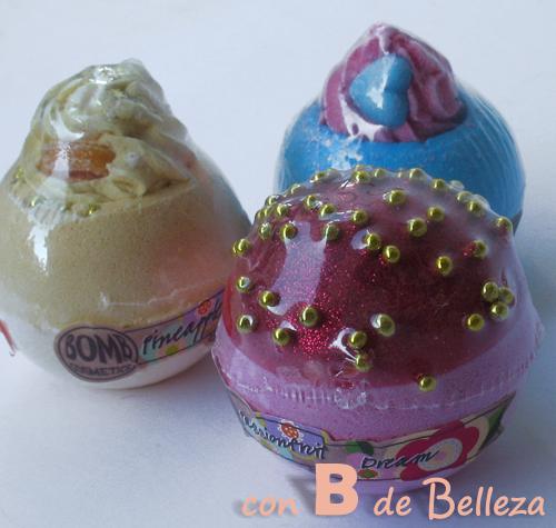 Bombas baño Bomb cosmetics