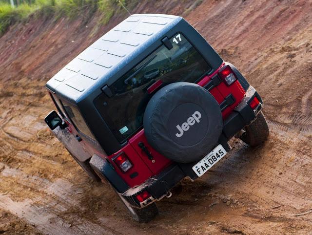 Jeep® Wrangler, ano/modelo 2013
