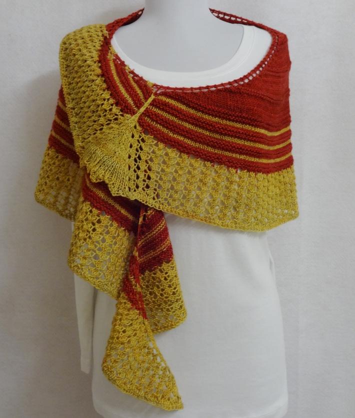 Ginkgo Leaf Knitting Pattern : eweniquely ewe: Ginkgo Shawl - Take 2