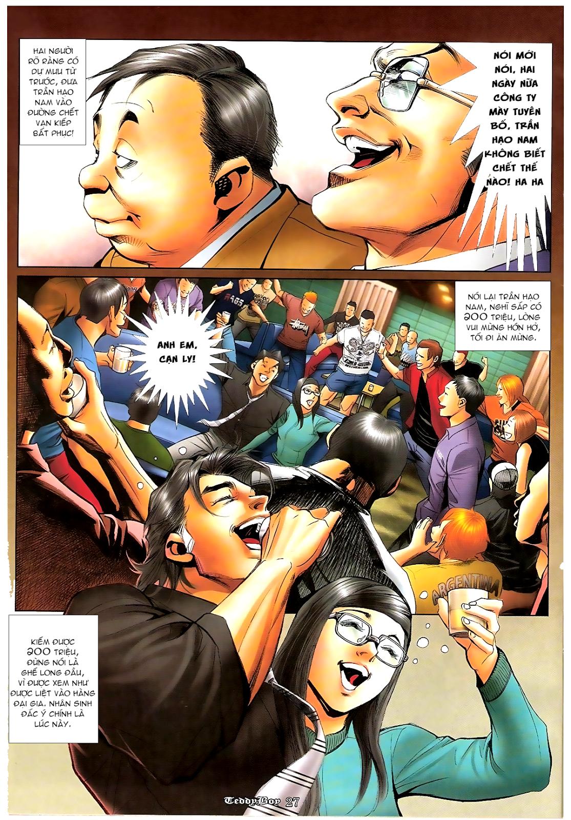 Người Trong Giang Hồ - Chapter 1194: Ác mộng Bố Già - Pic 23