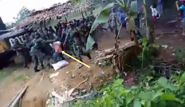 Video: Bapak Suku Karo ini Saling Pukul Dengan Aparat TNI, Apa Penyebabnya ?