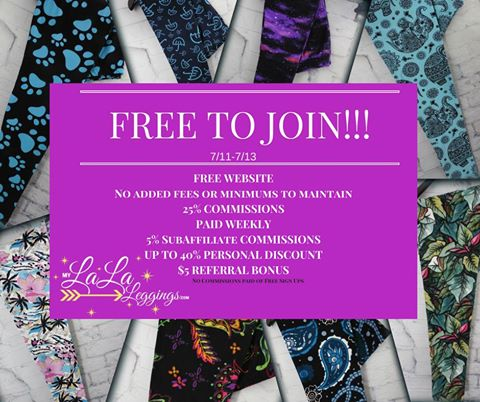 4259fe682bc51 Do you love leggings? Do you want to start selling leggings without fees? My  LaLa Leggings is currently FREE to join!