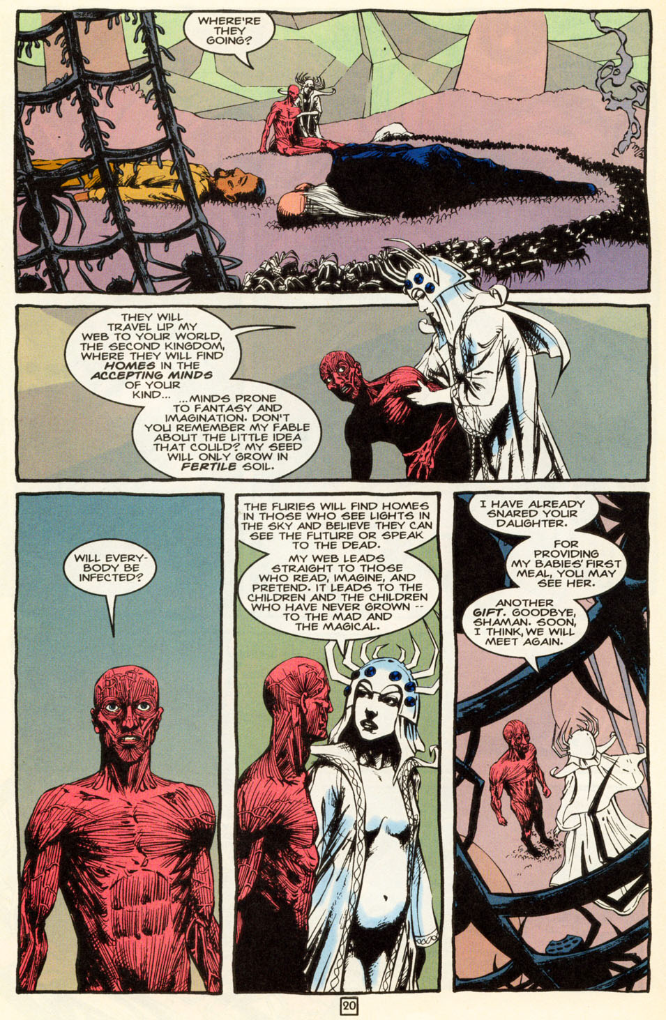 Read online Animal Man (1988) comic -  Issue #86 - 20