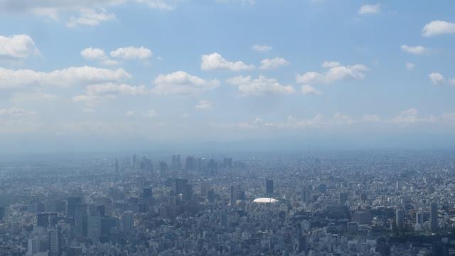 Tokyo Skytree - Aussicht Richtung Fuji