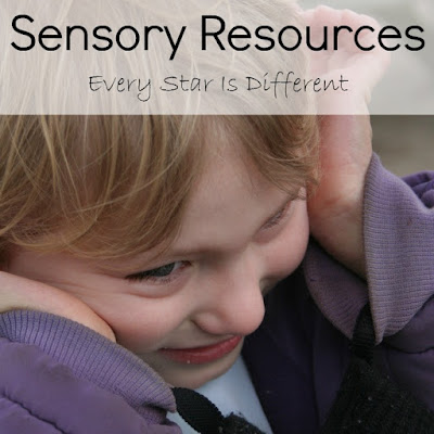 Sensory resources for kids