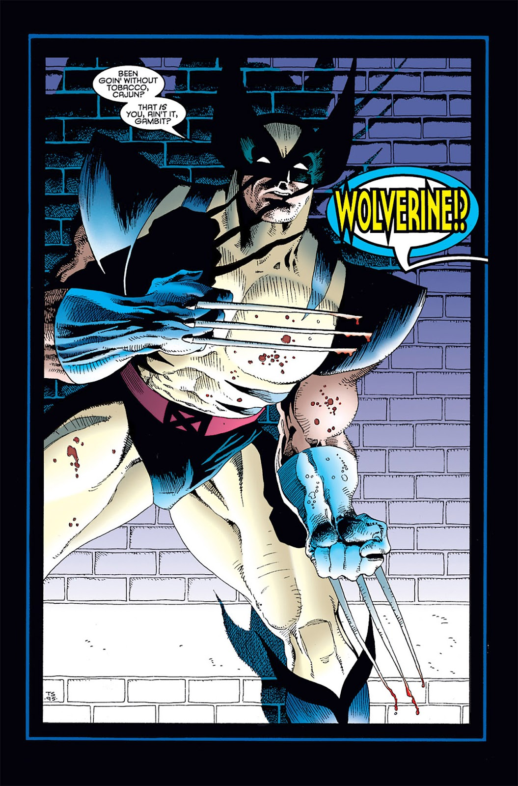 Read online Wolverine/Gambit: Victims comic -  Issue #1 - 19