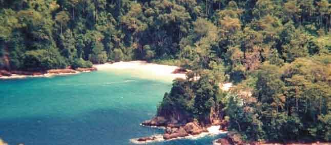 Pantai teluk ijo green bay