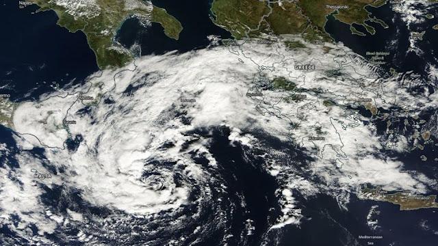 Κολυδάς - Αρναούτογλου:  Μεσογειακός Κυκλώνας στην Ελλάδα από την Παρασκευή - Μεγάλη προσοχή σε όλους