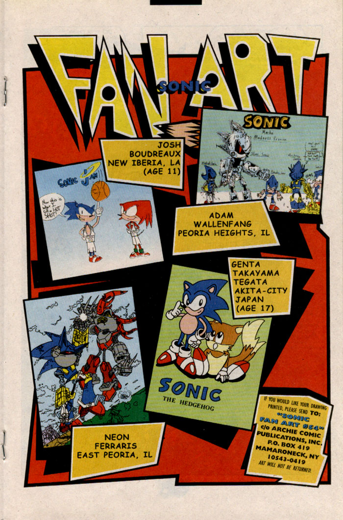 Read online Sonic The Hedgehog comic -  Issue #54 - 13
